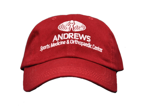 Crimson Adjustable Hat