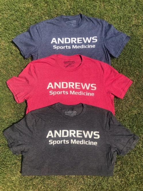 "Andrews Sports Medicine ""Butterwashed"" Unisex T-Shirt"