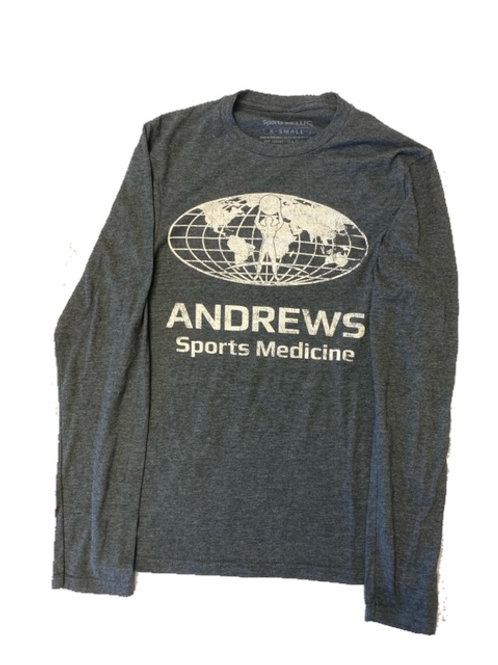 "Andrews Sports Medicine ""Butterwashed"" Unisex Long SleeveT-Shirt"