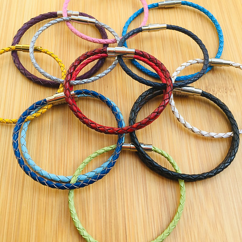One round braided