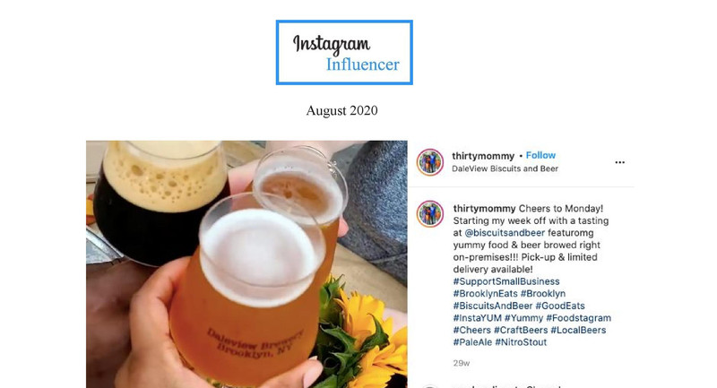 Instagram Influncer