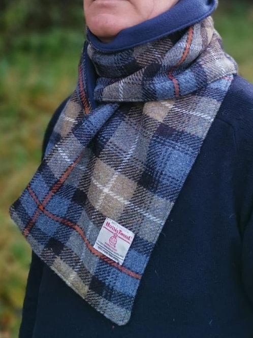 McKenzie check lined scarf