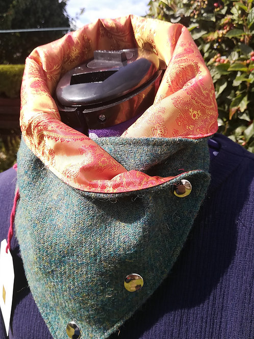 Forest green Ladies neck cowl /wrap /scarf