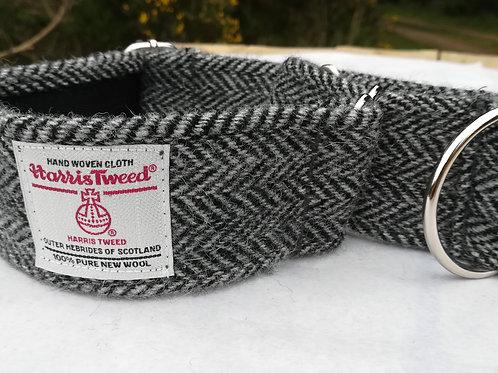 Black and Grey Herringbone