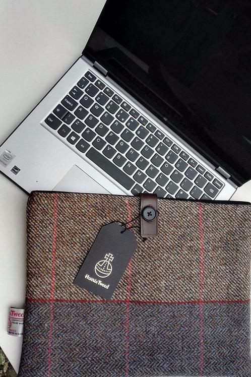 Harris Tweed Laptop/Chromebook/netbook case
