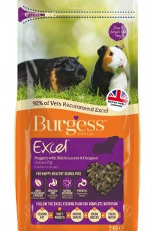 Burgess Excel Guinea Pig with Blackcurrant & Oregano 2kg