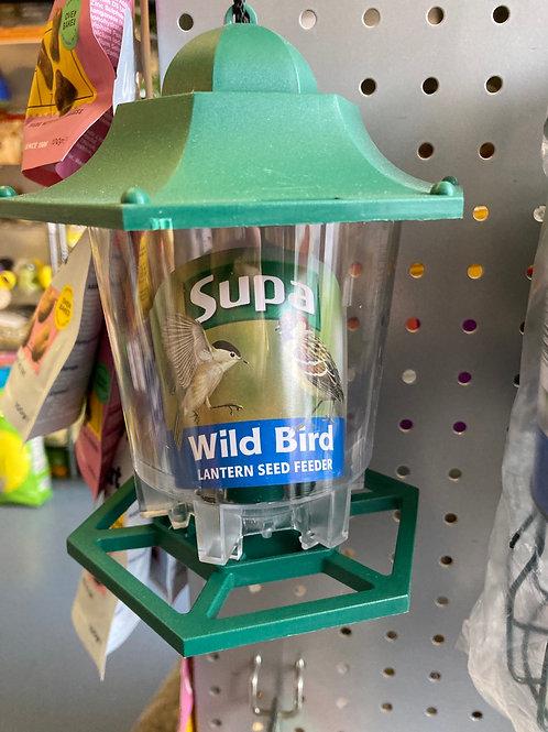 Lantern seed feeder