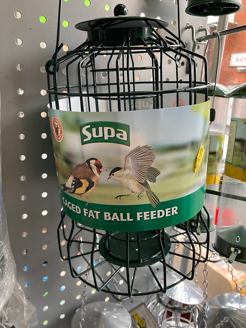 Caged Fatball Feeder