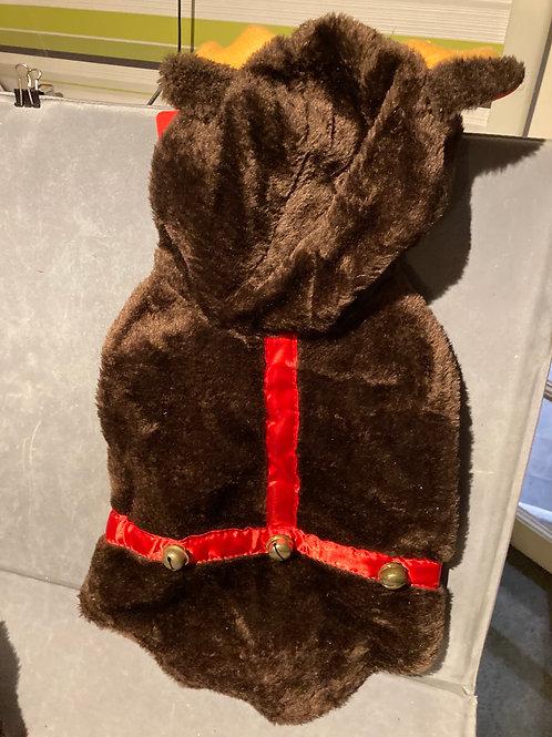 Faux fur reindeer outfit