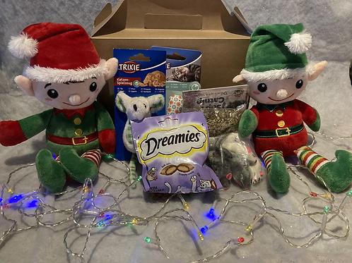 Christmas Cat Gift Box