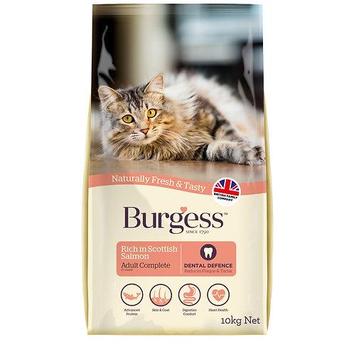 Burgess Adult Cat Scottish Salmon