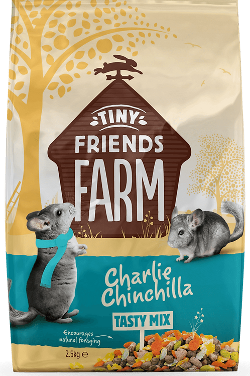 Tiny Friends Charlie Chinchilla Tasty Mix