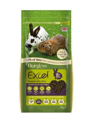 Burgess Excel Adult Rabbit 10kg