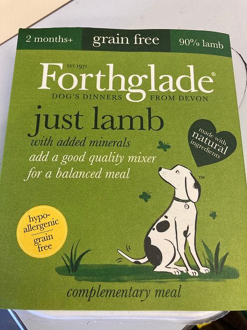 Forthglade Just Lamb 395g