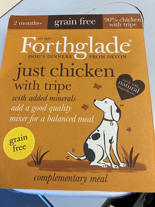 Forthglade Just Chicken & Tripe 395g