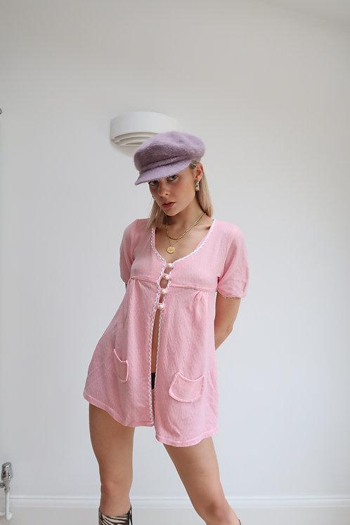Baby doll mini dress