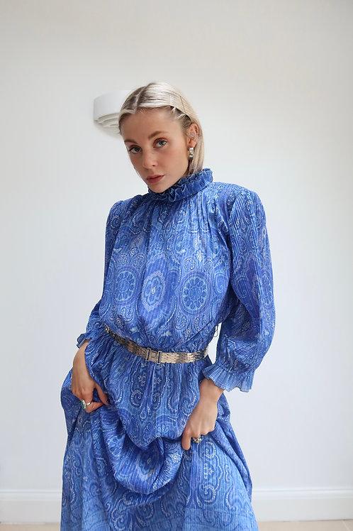 Darling high neck midi dress