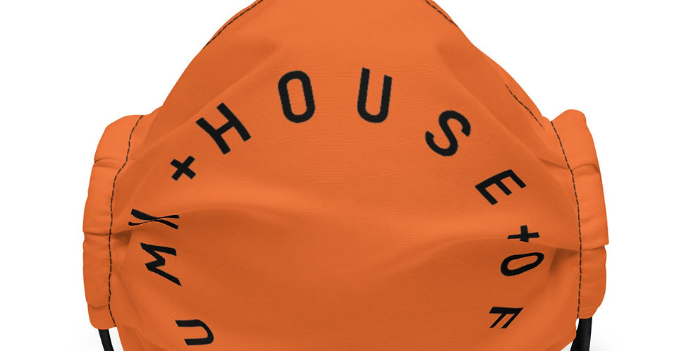 House Of Autumn Face Mask (ORN/BLK)
