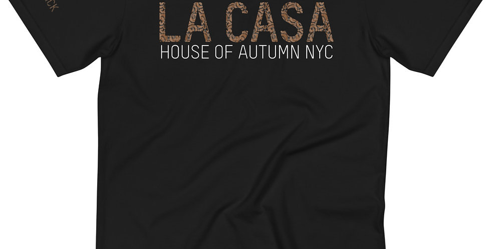 House Of Autumn 'LA CASA/Brick By Brick' Paisley Print Organic T-Shirt