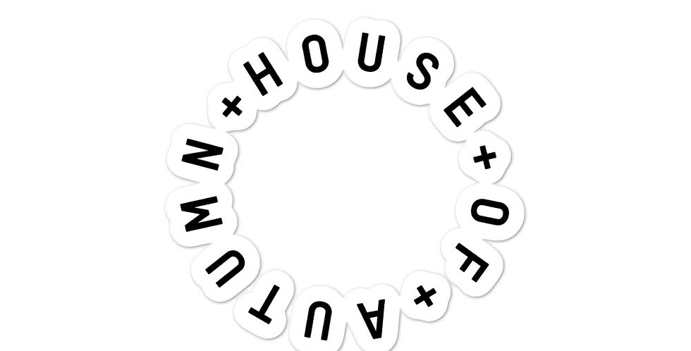 House Of Autumn Stickers