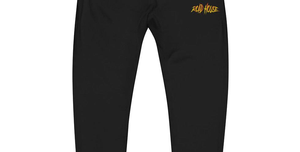 "Elijah Roads 'Road House"" Sunset Embroidered Unisex fleece sweatpants"