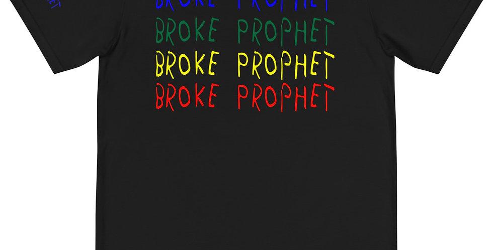 House Of Autumn 'Broke Prophet' Blu/Grn/Ylw/Red Organic T-Shirt