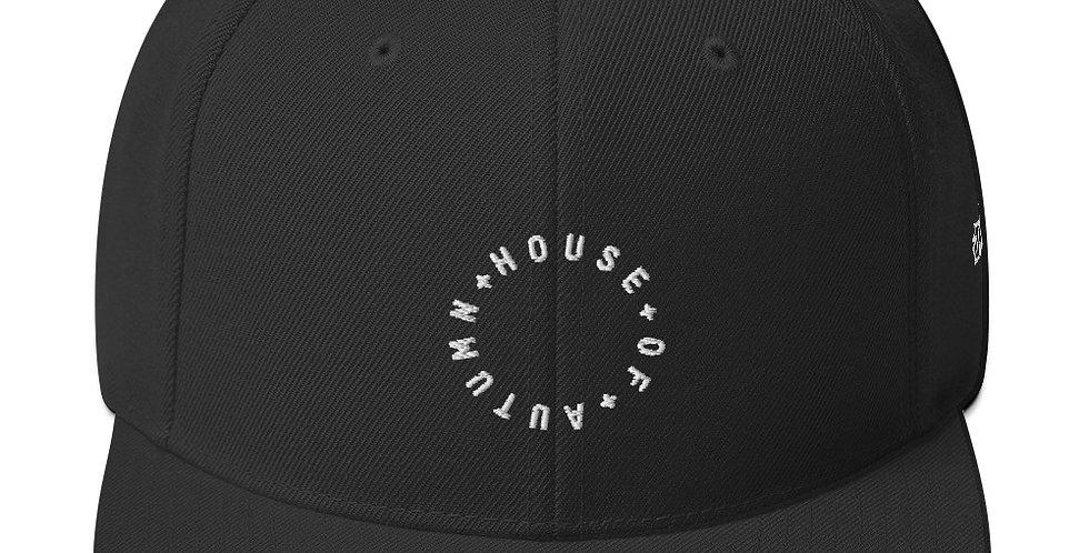 House Of Autumn Snapback Hat