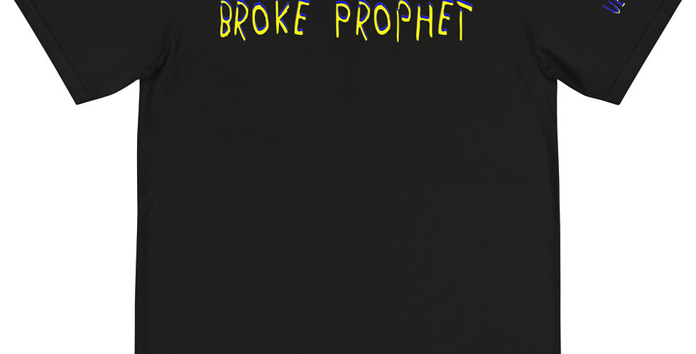 House Of Autumn 'Broke Prophet' VeteConDios Organic Printed T-Shirt
