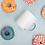 Thumbnail: Movement=Miracles White glossy mug