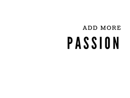 Passion In Your Relationship