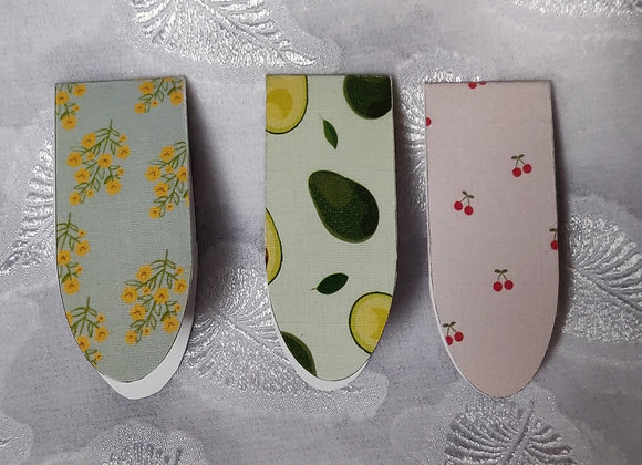 Foldable Bookmarks - Set Of Three