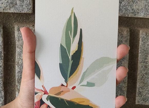 Leaf - Postcard