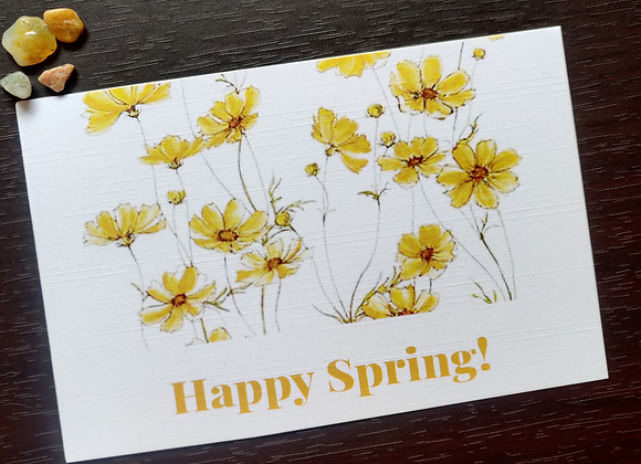 Happy Spring! - Postcard