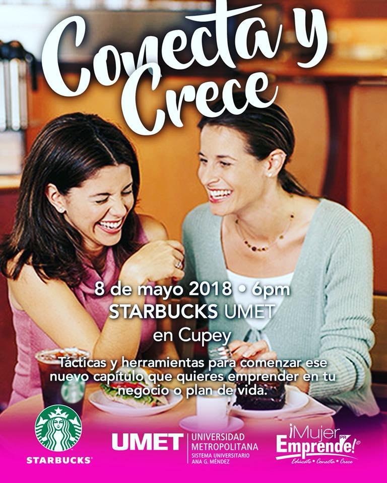 CONECTA Y CRECE MAYO 2018