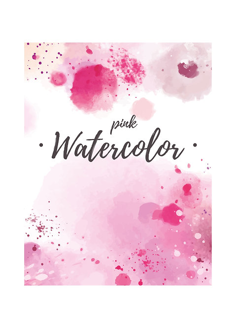 "Обложка ""Pink Watercolor"""