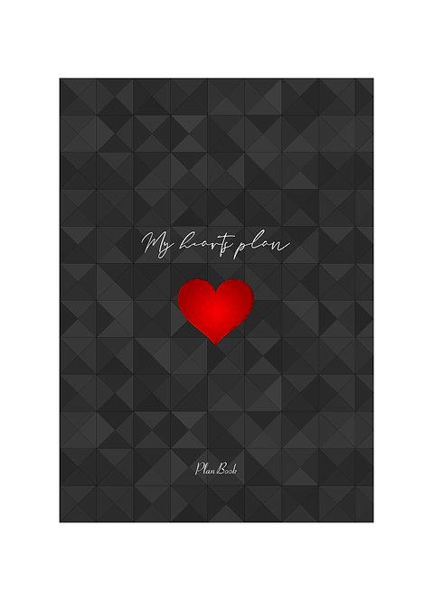 """Книжный планер PlanBook """"My hearts Plan"""""""