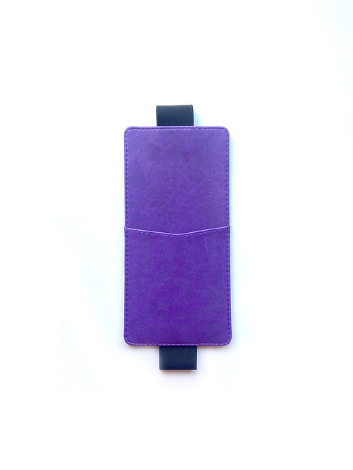 """Пенал для планера на резинке """"Фиолетовый"""""""
