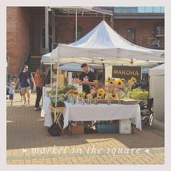 Tomorrow evening we are back at Market i