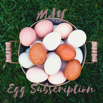 May Egg Subscription