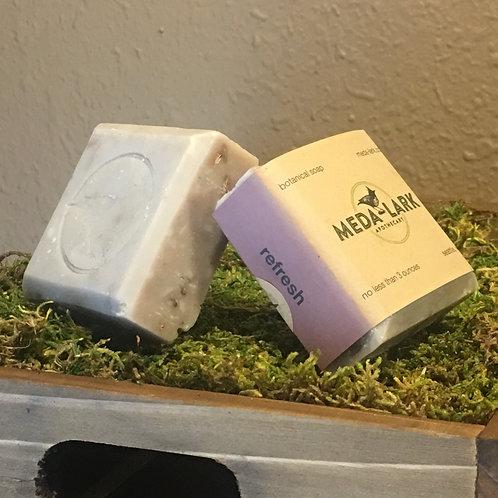 """refresh"" botanical soap"
