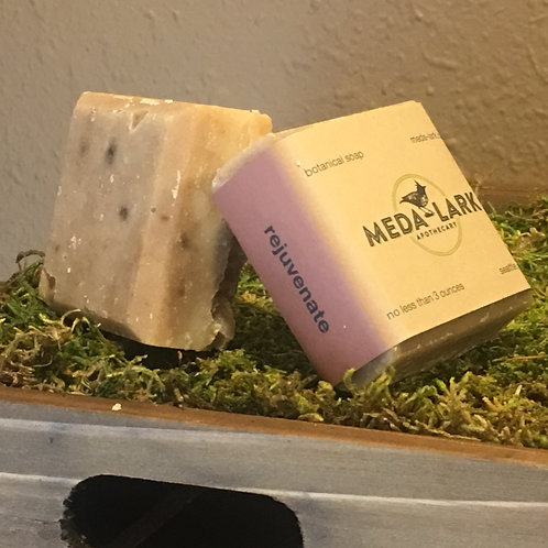 """""""rejuvenate"""" botanical soap"""