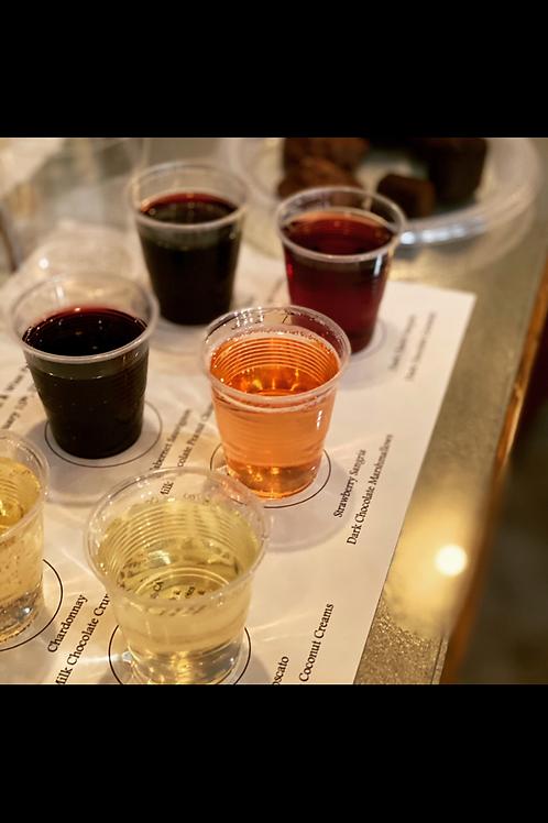 Chocolate & Wine Pairing Event-2/13