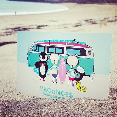 Carte postale Vacances Van