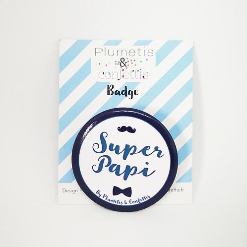 Badge Super Papi