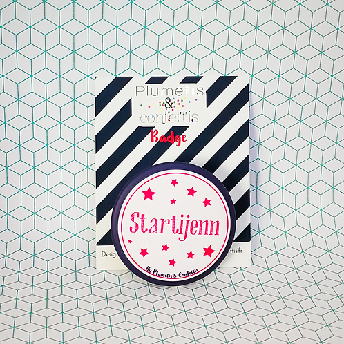 Badge Startijenn
