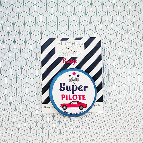 Badge Super Pilote