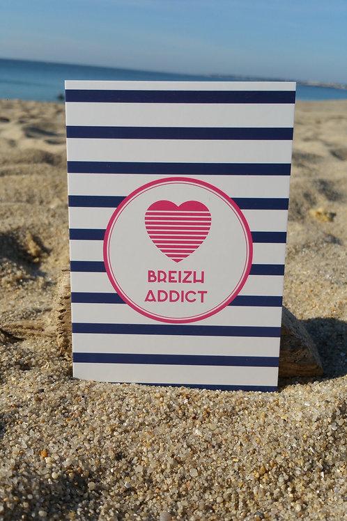 Carte postale Breizh Addict