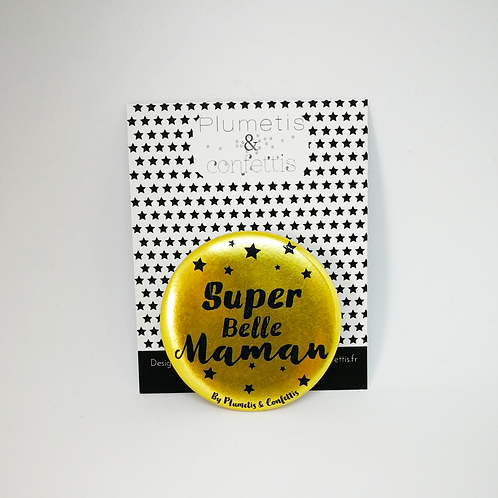Badge super Belle-maman