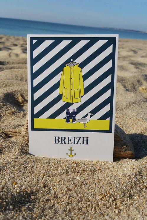 Carte postale Breizh