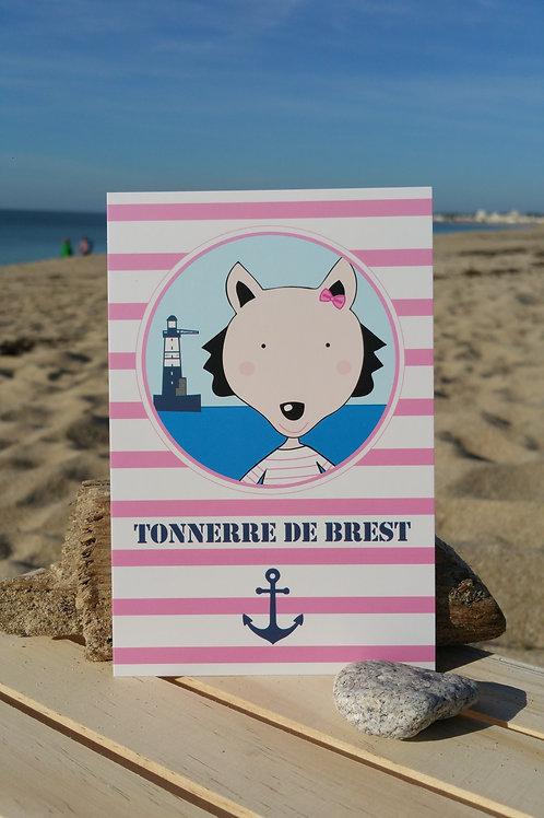 Carte postale Tonnerre de Brest